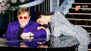 Elton John e Dua Lipa lançam parceria