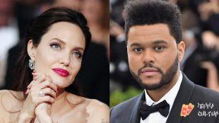 Novo casal? Fãs acreditam que Angelina Jolie e The Weeknd estão juntos