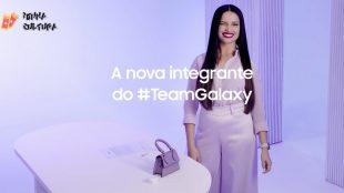 Finalmente! Juliette Freire é a nova embaixadora da Samsung
