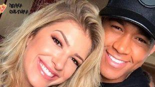 Liz, primeira filha de Lore Improta e Leo Santana, nasce em Salvador
