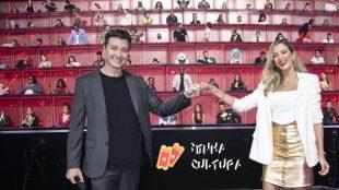 Rodrigo Faro e Ticiane Pinheiro apresentam 'Canta Comigo Teen' na Record TV
