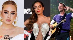 Adele, Anitta, Coldplay e mais: Os lançamentos da semana