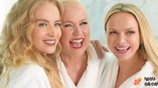 Eliana recebe Angélica e Xuxa em seu programa no SBT